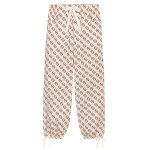 GUCCI Hybrid-Print Jogging Pants with GG Pattern NWT